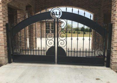 Custom Drive Gate in Plano